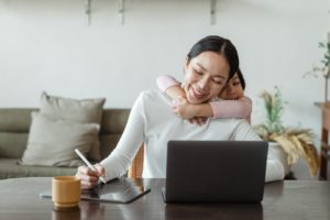 Working stay-at-home mom